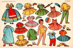 paper dolls vintage