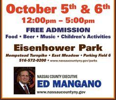 October Events Nassau County Parks