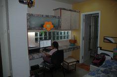 study cum kids bedroom, design by Architect: Prasanraj Jain, India.