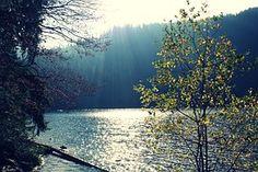 Lago, Sun, El Agua, Reflejo, Paisaje