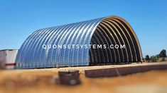 Quonset Hut Homes, Steel Buildings, Building Design, Arch, Container, Metal, Shop, Container Houses, Metals