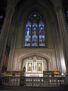 St. Patrick's Cathedral - New York City, Many times when I was feeling lonely, I'd just sit in here- so peaceful.