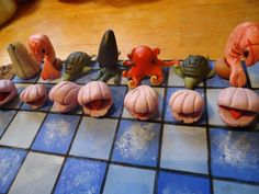 polymer clay chess set - Google Search