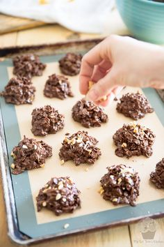Peanut Butter Chocolate Corn Flakes Clusters   eviltwin.kitchen