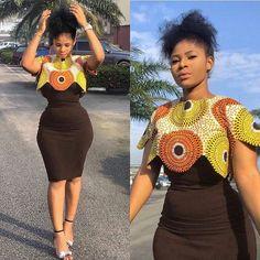 Latest Ankara Dress Styles - Loud In Naija African Fashion Ankara, Latest African Fashion Dresses, African Dresses For Women, African Print Dresses, African Print Fashion, Africa Fashion, African Attire, African Wear, African Women