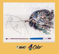 4 Colors change evereything. …#BIC