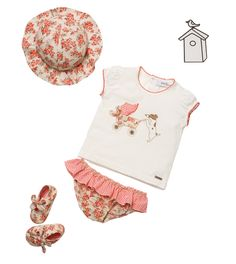 How cute is this baby outfit?     Pili Carrera - USA - Baby Collections