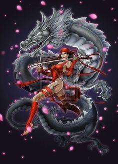 Elektra by Daxiong Guo
