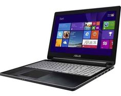 Asus Q502LA-BBI5T12 15.6″ Touch-Screen Laptop Convertible – Intel Core i5, 8GB, 1TB Black (Certified Refurbished) | Total Online Shop