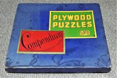 Compendium of Plywood Puzzles - Antique 1895 Sliding Tiles Games - Dolphin Toys Tiles Game, Wooden Puzzles, Plywood, Dolphins, Antiques, Toys, Puzzle Games, Ebay, Hardwood Plywood