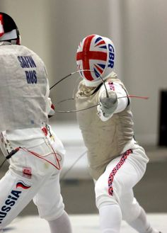 Great Britain James Davies Silver at the October 2015 Mens Foil World Cup in San Jose California