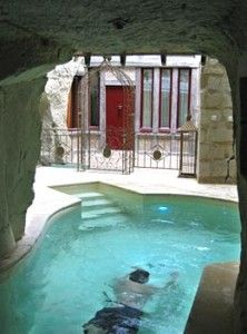 Hôtel troglodyte-  la Vignole - Anjou - France