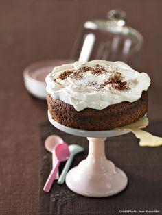 Recette du gâteau au chocolat de Jacques Génin.
