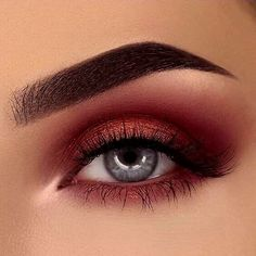 Shared by Hope K. Find images and videos about beauty, makeup and eyes on We Heart It - the app to get lost in what you love. Makeup Eye Looks, Eye Makeup Art, Cute Makeup, Pretty Makeup, Skin Makeup, Eyeshadow Makeup, Beauty Makeup, Beauty Tips, Makeup Goals