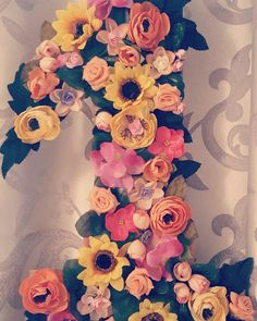 Diy flower number