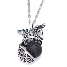 Angel Wings Diffuser Necklace https://sunstoneholistichealth.com