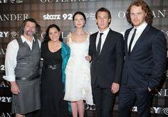 Pics of Caitriona Balfe, Sam Heughan, Tobias Menzies & Diana Gabaldon at the NYC Screening of Outlander | Outlander Online