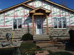 ISOCLAD- above grade wall insulation