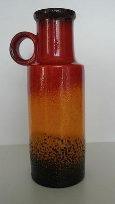 Vintage vase / Scheurich / 275 28 | West German Pottery ...