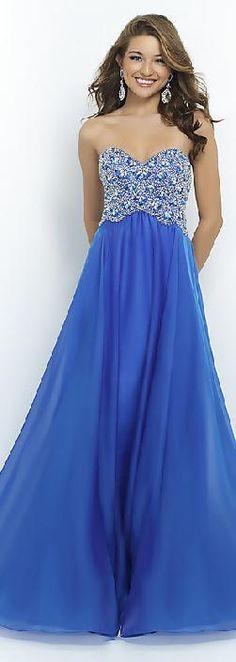 Sexy Natural Long A-Line Sleeveless Chiffon Prom Dresses motodresses52410