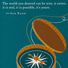 Positively Green. Ayn Rand