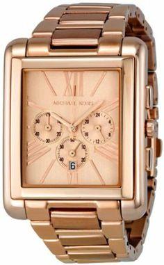 Michael Kors Watches Bradley (Rose Gold) Michael Kors. $235.00