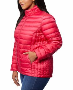 Plus Size Red Down Packable Puffer Jacket Women's. Women's Red Winter Puffer Coat Plus Size. 32 Degrees red plus size puffer coat designed with a cozy fill and stand collar.