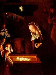 Paintings of the Birth of Christ, Jans tot Sint Geertgen, Birth of Christ, 1490