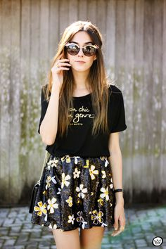 FashionCoolture - 06/12/2015 look du jour Le Motto black and gold outfit (2)