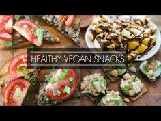 EASY VEGAN AFTER SCHOOL/WORK SNACKS FOR WEIGHT LOSS - YouTube