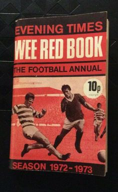 VINTAGE Evening Times THE Wee Red Football Annual BOOK 1972-73-EXCELLENT Collectible Cards, Red Books, Football, Times, Baseball Cards, Vintage, Ebay, Soccer, Futbol