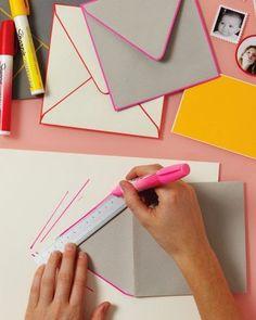 Ma Papeterie kawaii - Le blog: DIY - Des enveloppes personnalisées