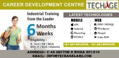 6 Weeks/Months Industrial Training for B.Tech,BE,MCA,Msc-IT,BCA, Diploma.TechAge Academy offer Courses Android, iPhone, PhoneGap, HTML5, PHP/MySQL, WordPress,Drupal,Cake PHP and more. Call For more information:- +91-9212043532, +91-9212063532 Visit:- http://www.techageacademy.com/category/4-6-weeks-industrial-training/