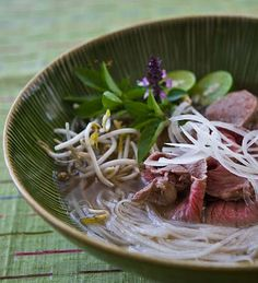 Slow Cooker Pho (Vietnamese Beef Noodle Soup) from Steamy Kitchen via Slow Cooker from Scratch