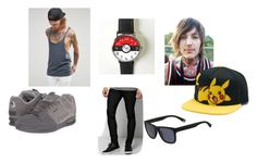 """""""If you only knew -Travis"""" by pepper2good4u on Polyvore featuring Sykes, ASOS, Osiris, BoohooMAN, Lacoste, men's fashion and menswear"""