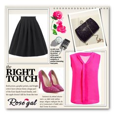 """""""Rosegal #53"""" by velidafashion ❤ liked on Polyvore featuring L'Agence"""