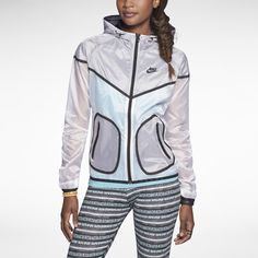 3a282deca6b Nike Tech Windrunner Women s Jacket. Nike Store Yoga Workout Clothes