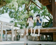 Two Sweet Sons Growing Up in Japan  beautiful series