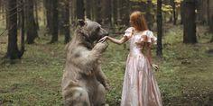 No son montajes ni animales falsos, sino maravillosas imágenes tomadas por la asombrosa fotógrafa Rusa Katerina Plotnikova. Son tan bellas y fantásticas que es difícil creer que no tengan truco.