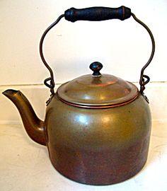 Tea Kettle Copper Pilgrim Ware