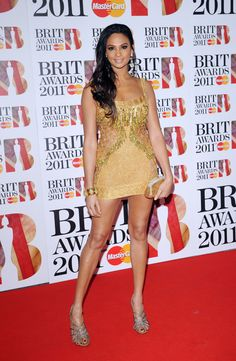 Alesha Dixon 2011-02-15 Brit Awards London
