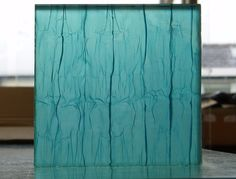 Fabric Laminated Glass