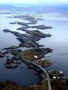 Les routes les plus spectaculaires au monde - Route Atlantique Norvege