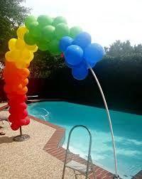 Resultado de imagen para como hacer un arco de globos paso a paso