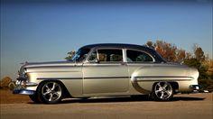 "1954 Bel Air Chevrolet ""Tuxedo"""