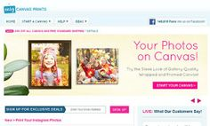 A Beautiful Solution For Your Most Special Digital Pictures (and a bonus) - Mom and Dad Central  #digitalpictures #canvas #frames #prints #discounts #coupons