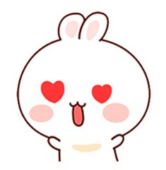 LINE Creators' Stickers - Happy bunny Sunny 2 Example with GIF Animation Family Stickers, Cute Stickers, Cute Love Cartoons, Cute Cartoon, Cute Photos, Cute Pictures, Hug Gif, Cute Love Gif, Bunny And Bear