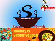 With the #cold #weather still in abundance, #January is the perfect month to celebrate and enjoy #soup of all kinds.