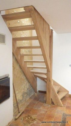 Home Renovation Design Best Painted Stairs Ideas For Your Modern Home Attic Staircase, Loft Stairs, House Stairs, Staircase Ideas, Stairs Window, Basement Stairs, Attic Ladder, Railing Ideas, Attic Window