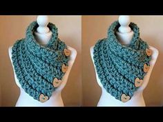 Crochet Granny, Instagram, Floral, Accessories, Youtube, Top, Fashion, Long Scarf, Crochet Clothes